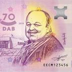 Divadlo Andreja Bagara vydá zberateľskú eurobankovku s vyobrazením Jozefa Bednárika